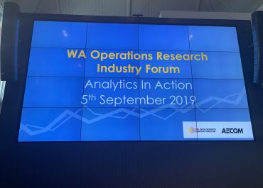 "RailSmart presented at ""Data Analytics in Action"" event"