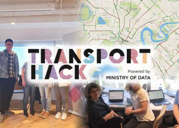 PATREC Researchers Participate (and Win) in first TransportHack